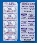 メトホルミン塩酸塩錠250mgMT「TCK」