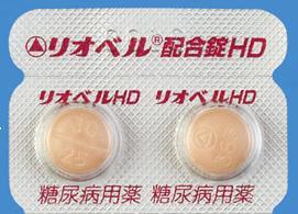 リオベル配合錠HD