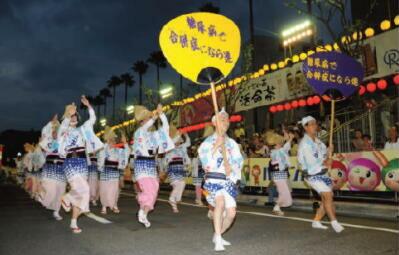 第1回 糖尿病で「合併症になら連」阿波踊りの会 開催