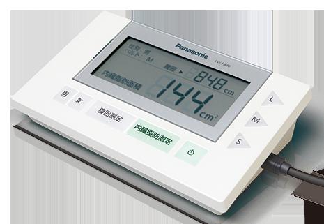 CTとの相関が高く簡便に測定する内臓脂肪計